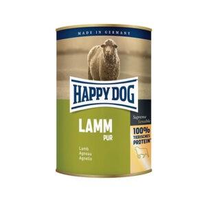שימורי הפי דוג לכלב - פטה טלה 400 גרם-0