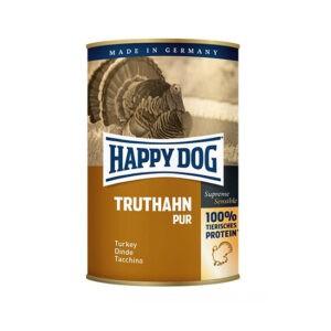 שימורי הפי דוג לכלב - פטה הודו 400 גרם-0