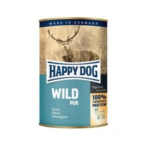 שימורי הפי דוג לכלב - פטה בשר ציד 400 גרם-0
