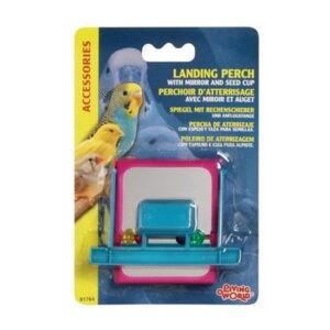 ליווינג וורלד צעצוע לתוכי - כלי אוכל עם מעמד מראה וחרוזים-0