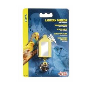 ליווינג וורלד צעצוע לתוכי - סביבון מראה עם פעמון-0