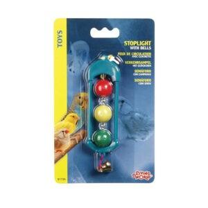 ליווינג וורלד צעצוע לתוכי - רמזור עם כדורים-0