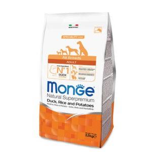 """מזון לכלבים מונג' בוגר מכל הגזעים ברווז אורז ותפו""""א 12 ק""""ג-0"""