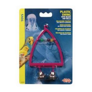 ליווינג וורלד צעצוע לתוכי - נדנדה עם פעמונים וחרוזים-0