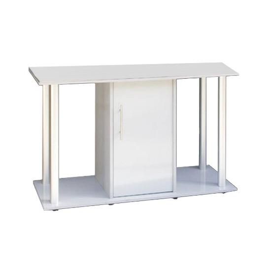 """שולחן לאקווריום ריהו דגם רילי 120 ס""""מ צבע כסוף-0"""