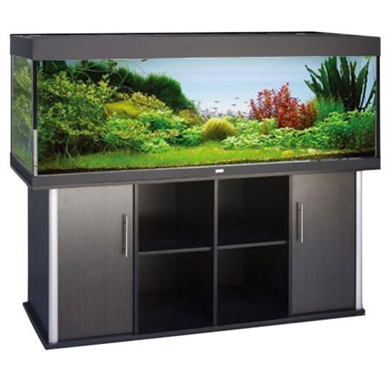 """שולחן לאקווריום ריהו דגם סילבר 180 ס""""מ צבע שחור-5824"""