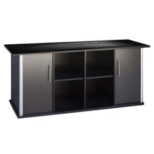 """שולחן לאקווריום ריהו דגם סילבר 180 ס""""מ צבע שחור-0"""