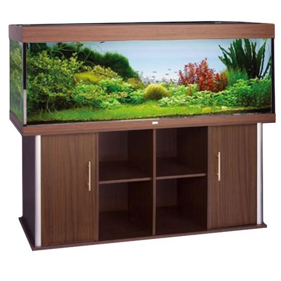 """שולחן לאקווריום ריהו דגם סילבר 180 ס""""מ צבע חום-5826"""
