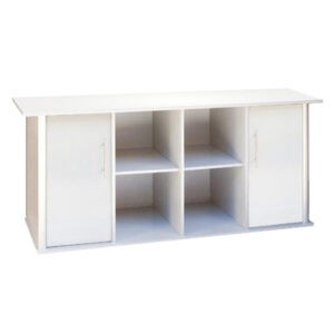 """שולחן לאקווריום ריהו דגם סילבר 180 ס""""מ צבע כסוף-0"""