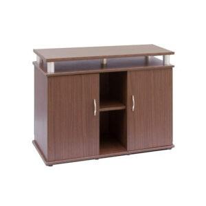 """שולחן לאקווריום ריהו דגם סילבר 100 ס""""מ צבע חום-0"""