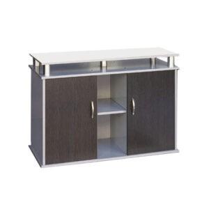 """שולחן לאקווריום ריהו דגם סילבר 100 ס""""מ צבע כסוף-0"""