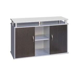 """שולחן לאקווריום ריהו דגם סילבר 120 ס""""מ צבע כסוף-0"""