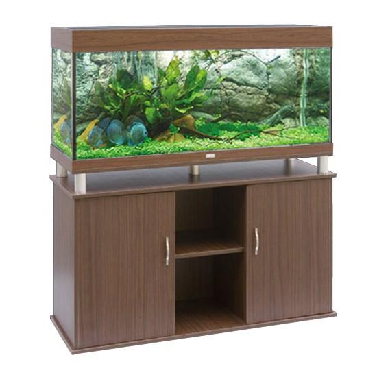 """שולחן לאקווריום ריהו דגם סילבר 120 ס""""מ צבע חום-5801"""