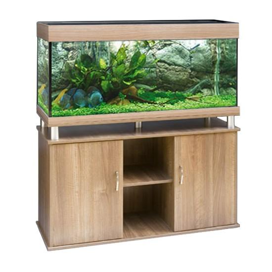 """שולחן לאקווריום ריהו דגם סילבר 120 ס""""מ צבע בוק-5799"""