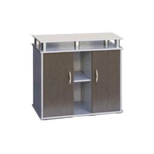 """שולחן לאקווריום ריהו דגם סילבר 80 ס""""מ צבע כסוף-0"""