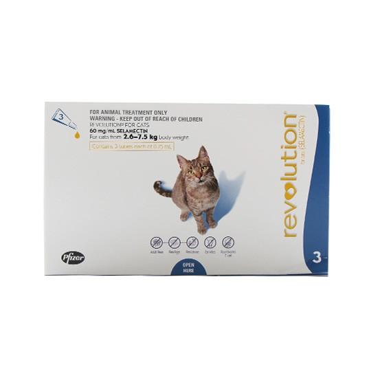 """אמפולות ריוולושיין לחתול 2.6-7.5 ק""""ג - לא למכירה-0"""