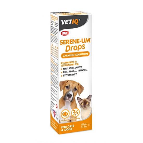 """טיפות הרגעה vetiq לכלבים וחתולים 100 מ""""ל-0"""