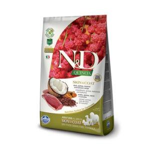 """מזון כלבים נטורל אנד דלישס קינואה וברווז לטיפול בעור ובפרווה 2.5 ק""""ג-0"""