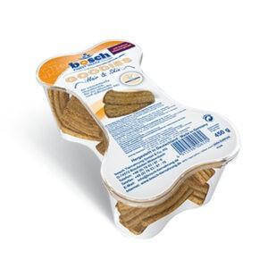 עוגיות בוש לכלב לבריאות עור ופרווה 450 גרם-0