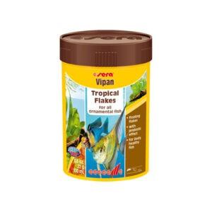 """מזון לדגים סרה ויפאן 100 מ""""ל-0"""