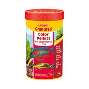 """מזון לדגים סרה גרנורד 250 מ""""ל-0"""