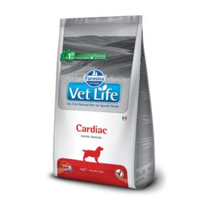 """מזון כלבים רפואי וט לייף cardiac לטיפול בתפקוד הלב 12 ק""""ג-0"""