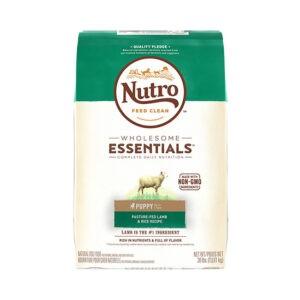 """מזון לכלבים נוטרו wholesome essentials גור כבש 13 ק""""ג-0"""