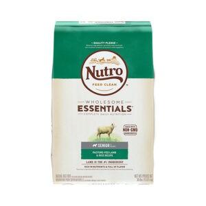 """מזון לכלבים נוטרו wholesome essentials סניור כבש 13 ק""""ג-0"""