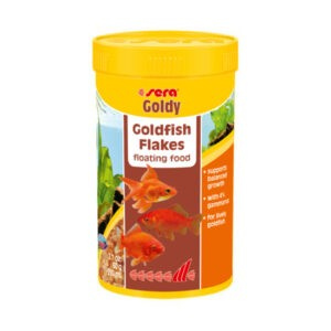 """מזון לדגים סרה גולדי פלקס 250 מ""""ל-0"""