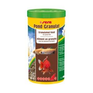 מזון לדגים סרה פונד גרנולט 1 ליטר-0