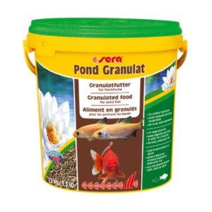 מזון לדגים סרה פונד גרנולט 10 ליטר-0