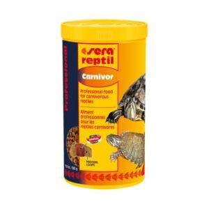 מזון לדגים סרה ראפטיל פרופשיונל קרניבור לזוחלים 1 ליטר-0