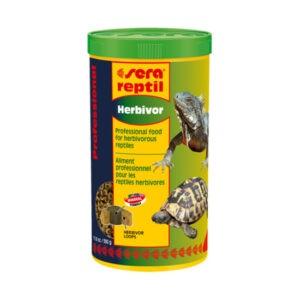 מזון לדגים סרה ראפטיל פרופשיונל צמחי לזוחלים 1 ליטר-0