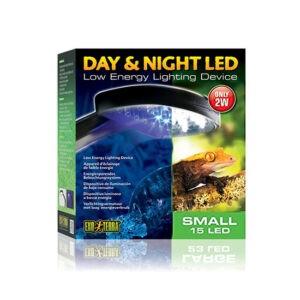תאורת יום ולילה לזוחלים לד 15 קטנה 2w אקזוטרה -0