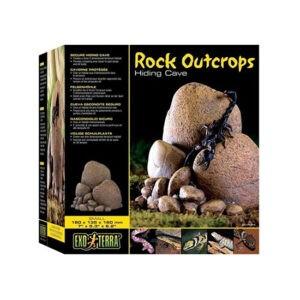 מסתור אבנים ומערה לטרריום זוחלים קטן pt2915 אקזוטרה-0