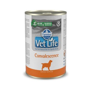 מזון רפואי רטוב לכלבים וט לייף Convalescence להאצת החלמה 300 גרם -0