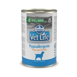 מזון רפואי רטוב לכלבים וט לייף Hypoallergenic למניעת אלרגיות 300 גרם -0