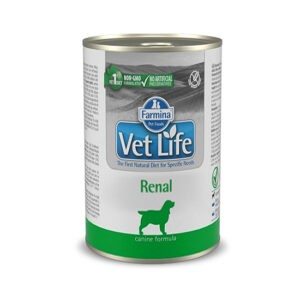 מזון רפואי רטוב לכלבים וט לייף Renal לתמיכה וטיפול בכליות 300 גרם -0