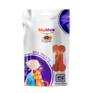 חטיף ממקס לכלב נקניקיות סלמון 80 גרם