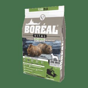 """מזון לכלבים בוריאל כלב ויטל עוף גזע גדול 11.3 ק""""ג-0"""