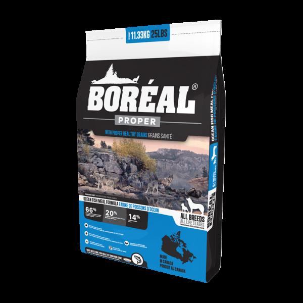 """מזון לכלבים בוריאל כלב פרופר דגי אוקיאנוס 11.3 ק""""ג-0"""