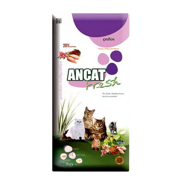 """מזון לחתולים ancat fresh - איי אן סי פרש בוגר עוף 3 ק""""ג-0"""