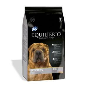 """מזון לכלבים אקווליבריו סנסטיב מדיום 15 ק""""ג-0"""