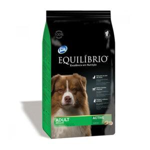 """מזון לכלבים אקווליבריו אדולט מדיום 15 ק""""ג-0"""