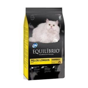 """מזון לחתולים אקווליבריו פרווה ארוכה 3 ק""""ג-0"""