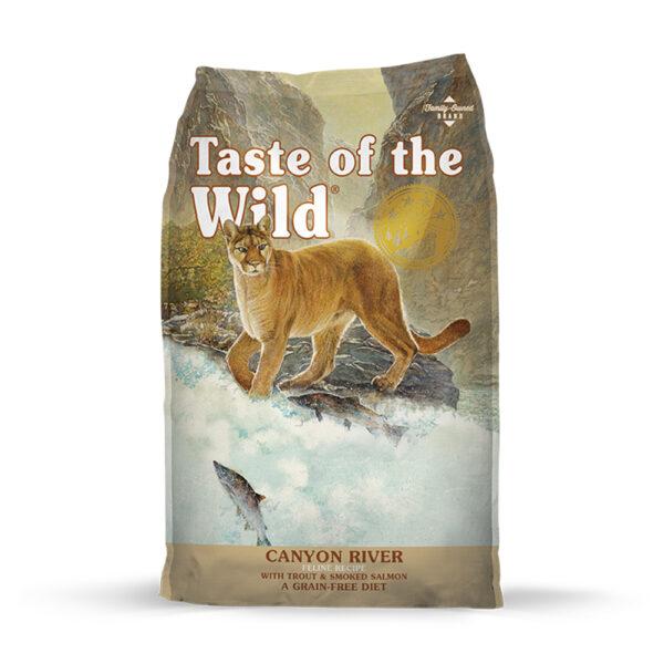 """מזון לחתולים טייסט אוף דה ווילד קניון דגים 6 ק""""ג-0"""