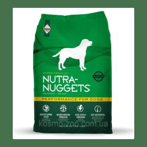 """מזון לכלבים נוטרה נאגטס פרפורמנס לכלבי עבודה 15 ק""""ג-0"""