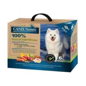 """מזון לכלבים קאניס נייצ'ר דגים 6 ק""""ג-0"""