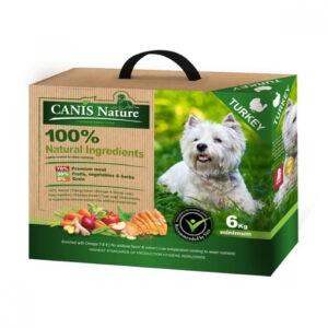 """מזון לכלבים קאניס נייצ'ר הודו 6 ק""""ג-0"""