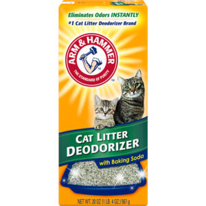 מנטרל ריחות לשרותי חתול אבקה - ארם אנד האמר 567 גרם-0